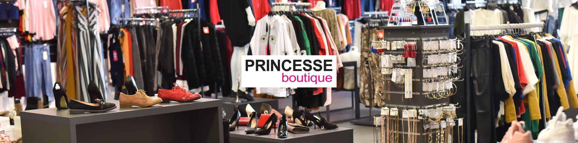 Photo bannière avec logo princesse-boutique