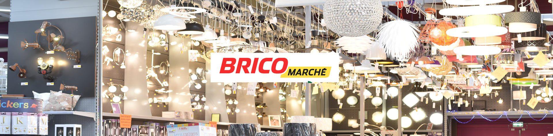 Photo bannière avec logo Bricomarché