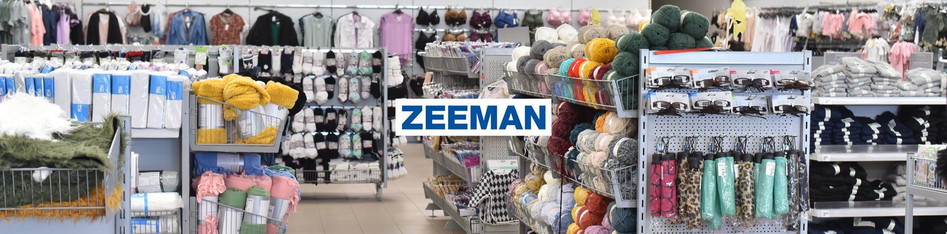 Photo bannière avec logo zeeman