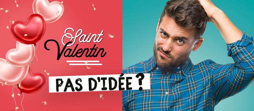 Bandeau de la saint-valentin 2020 - Pas d'idée? Allez à Parc St-Paul