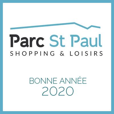 Logo Parc St Paul - Bonne année 2020