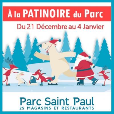 Affiche de la patinoire du Parc St-Paul