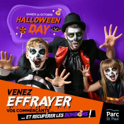 Halloween au Parc Saint Paul à Romans sur Isère