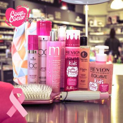 produits shop coiffure octobre rose lutte contre cancer du sein
