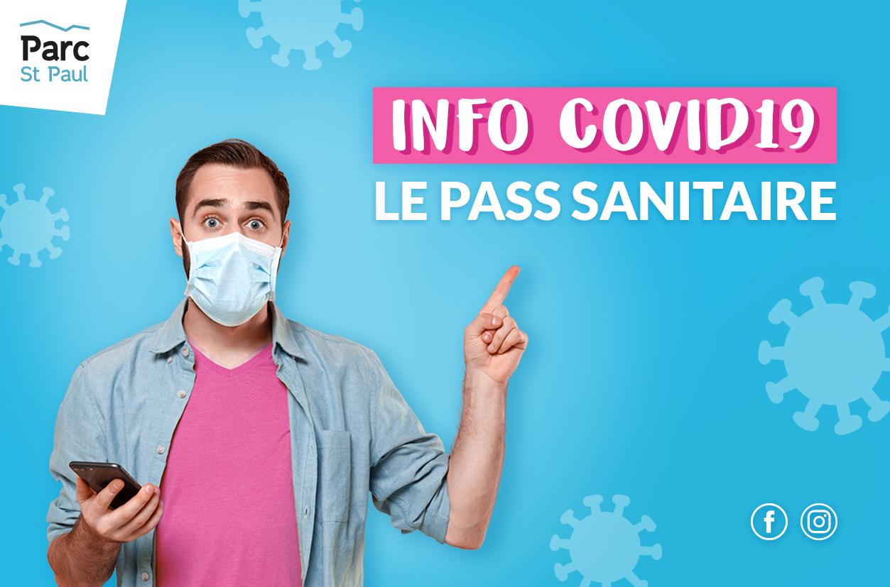 Infos pass sanitaire au Parc Saint Paul à Romans